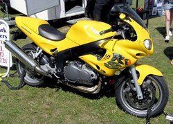 The 955 cc Triumph Sprint RS