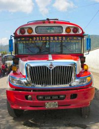 The (in)famous Chicken Buses of Guatemala